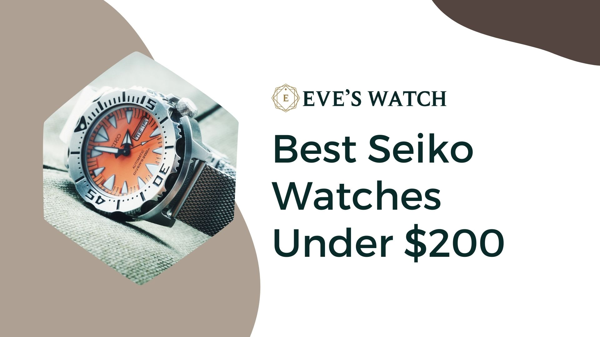 Best Seiko Watches Under $200