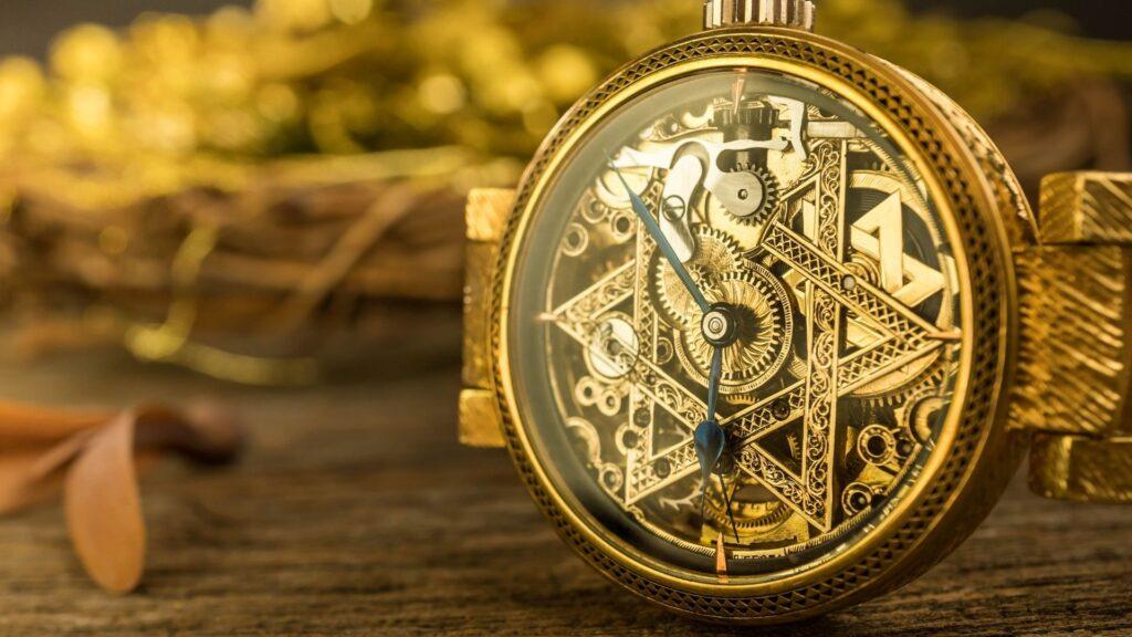 skeletonized watch
