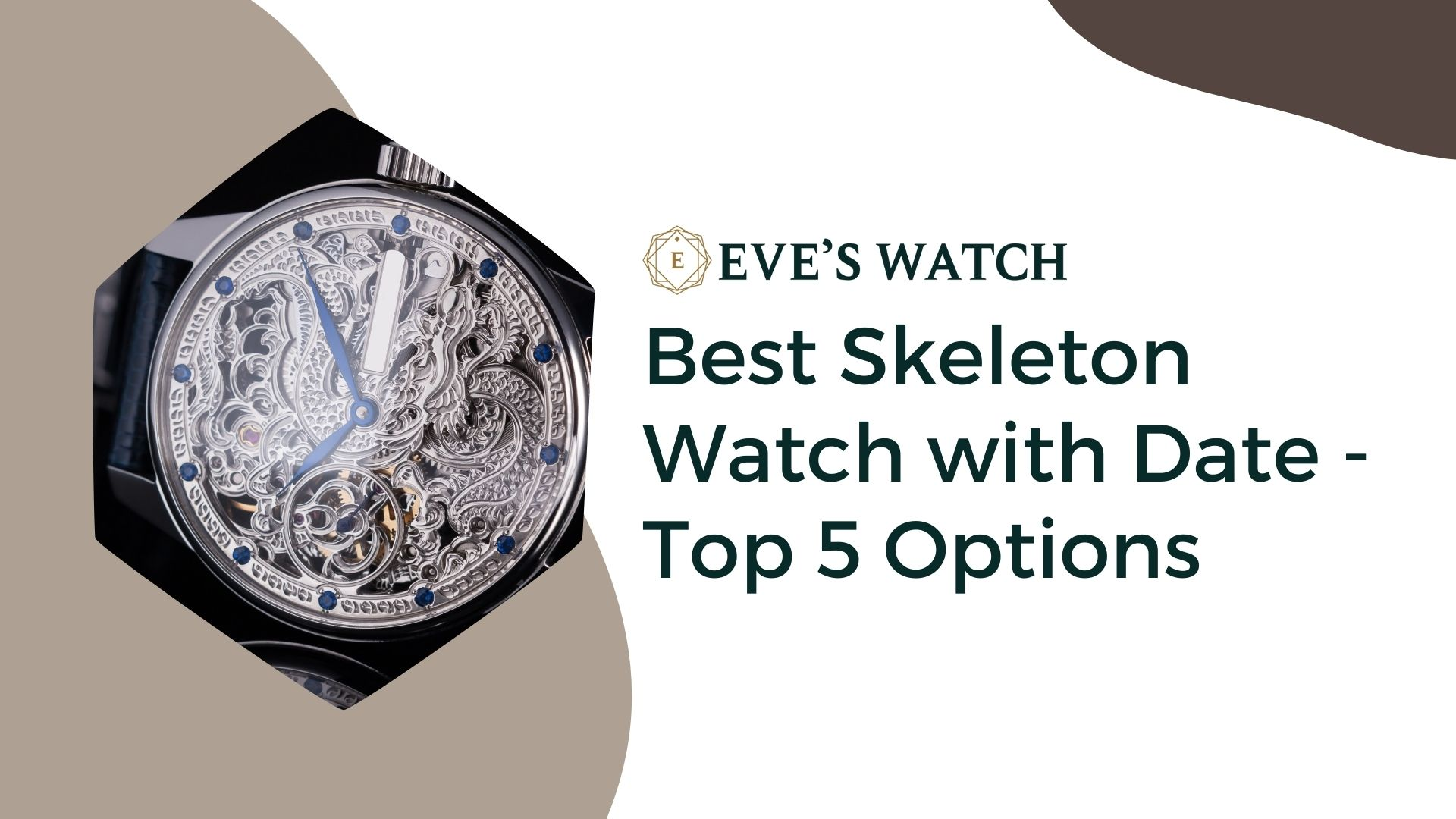 best skeleton watch with date top 5 options