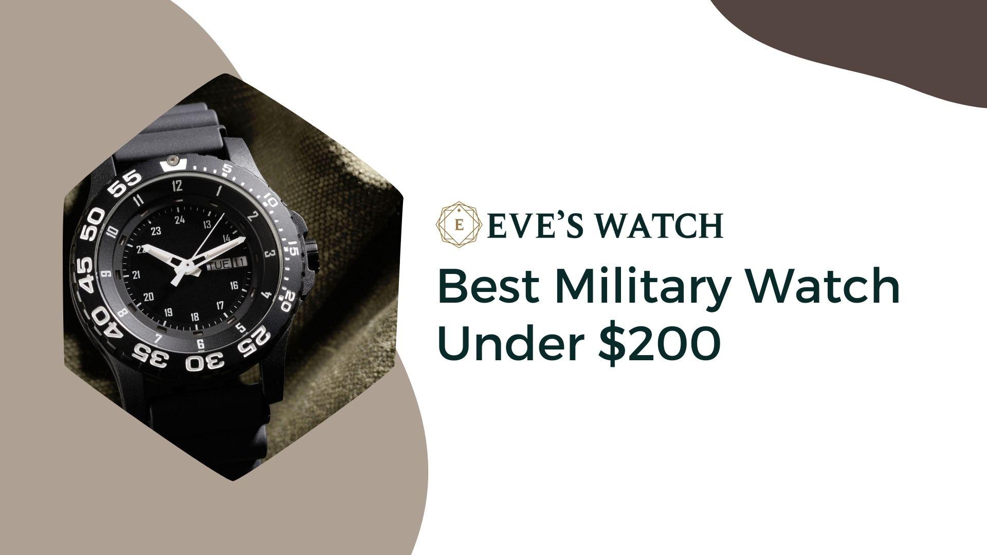 best military watch under 200