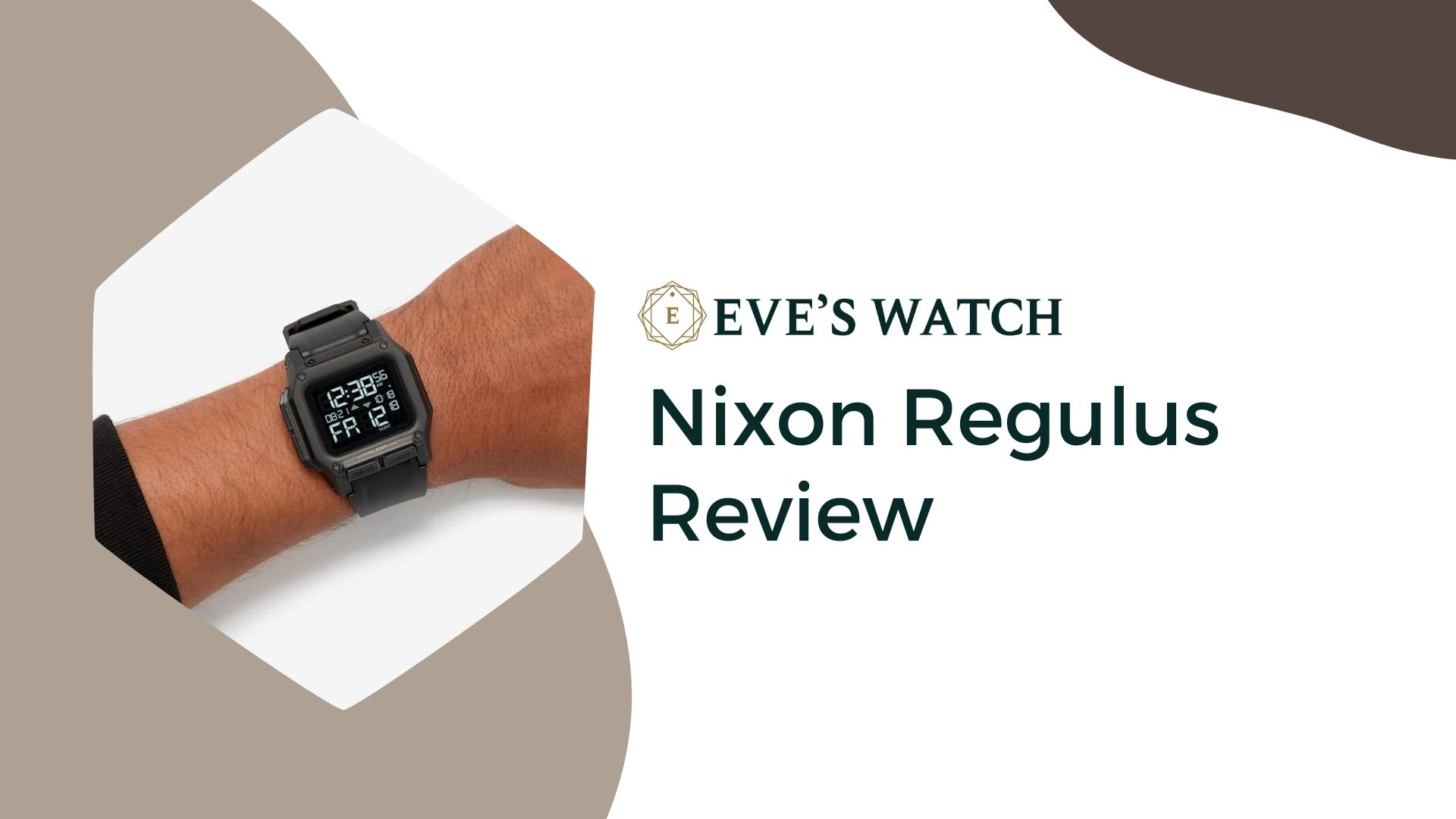 Nixon Regulus Review