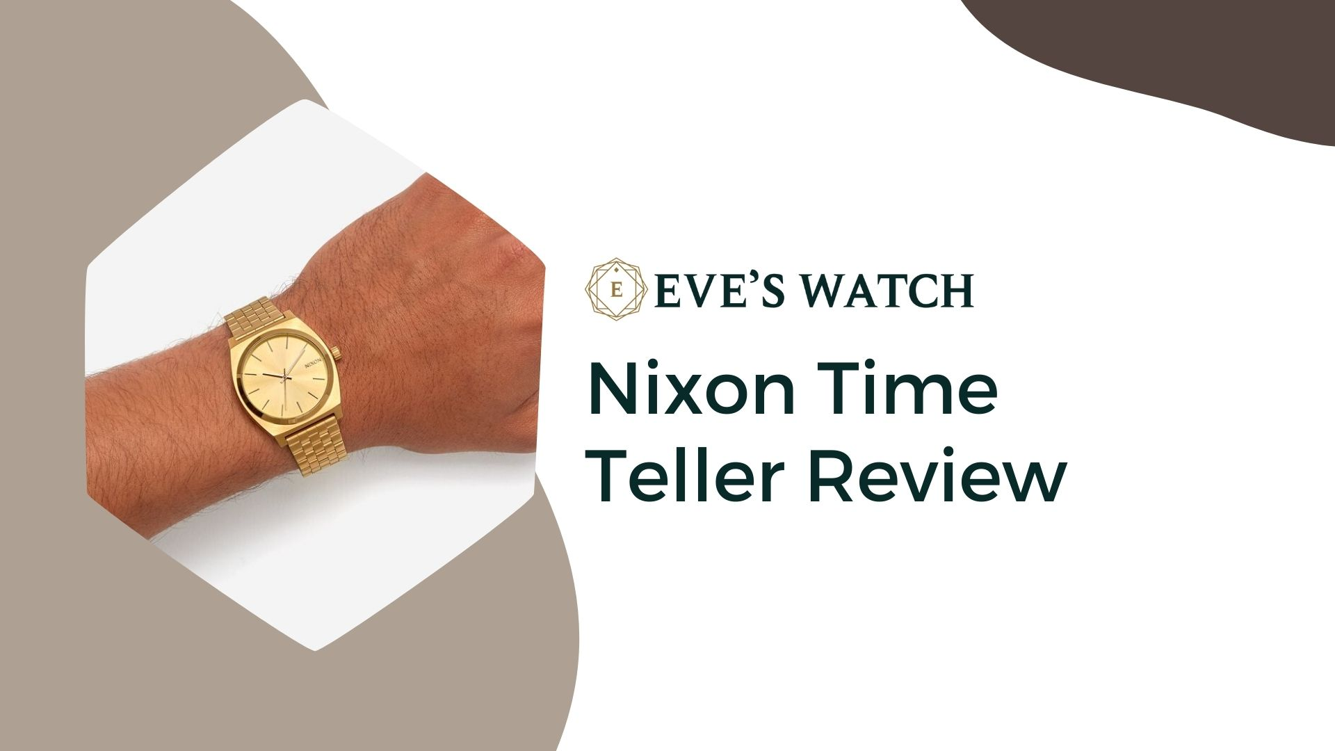Nixon Time Teller Review