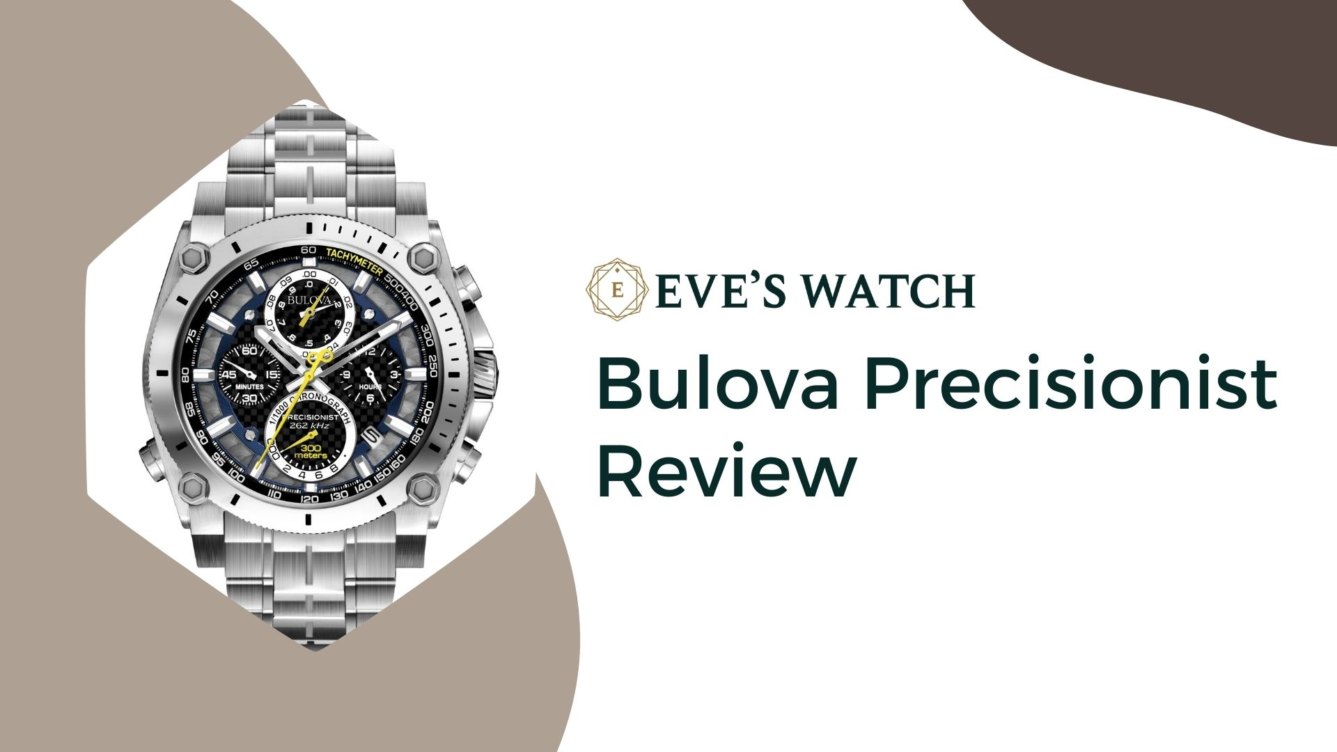 Looking for the most accurate chronograph watches for a reasonable price? Here is the Bulova Precisionist Review!